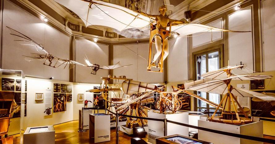 milánó leonardo da vinci museum